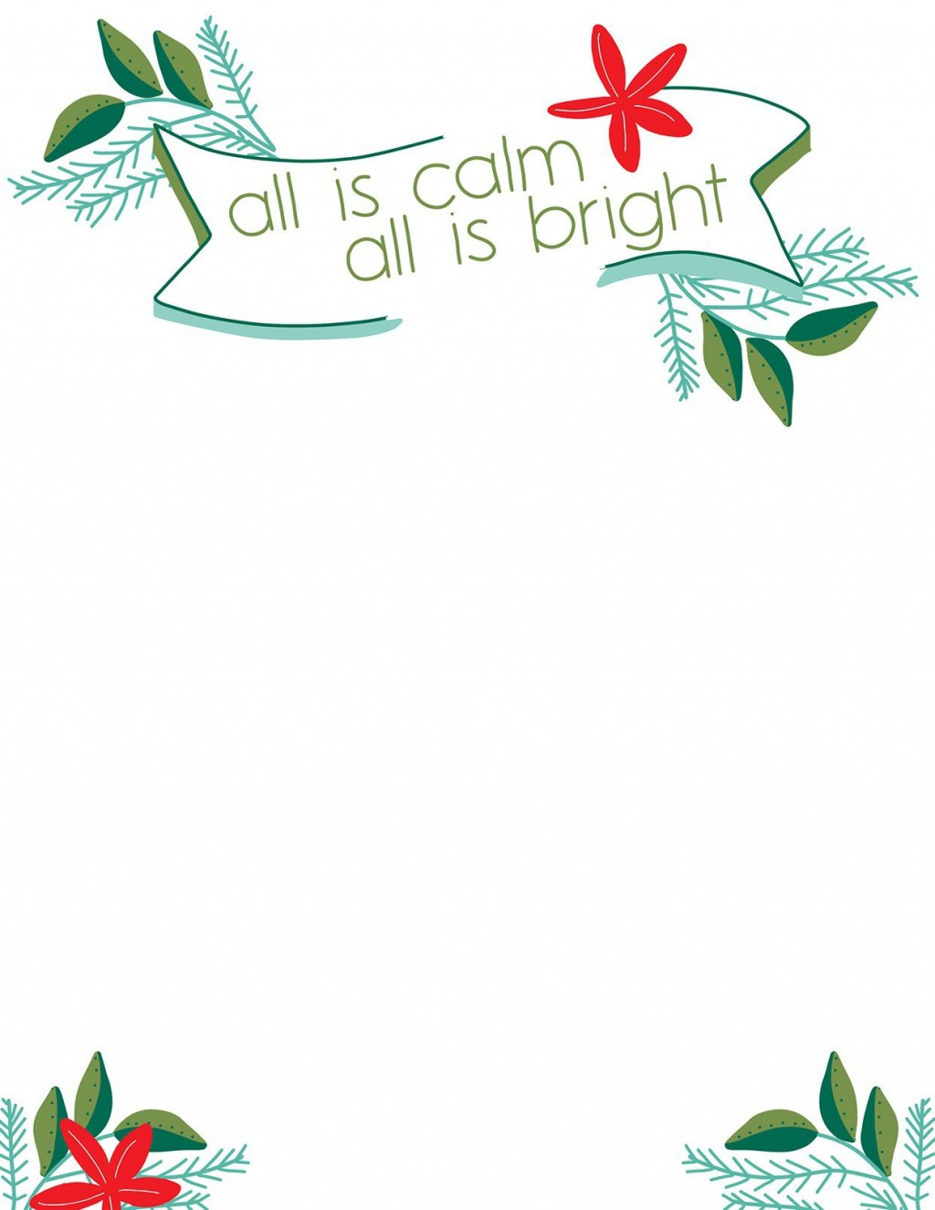 011 Amazing Free Christma Letter Template For Microsoft Word Highest Clarity  Downloadable NewsletterLarge