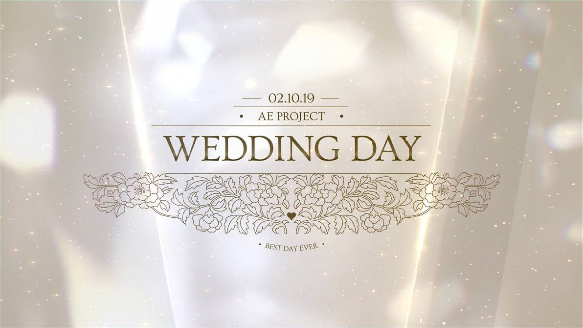 011 Astounding After Effect Wedding Template Image  Templates Free Download Cc Invitation1920