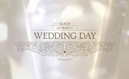 011 Astounding After Effect Wedding Template Image  Templates Free Download Cc Invitation