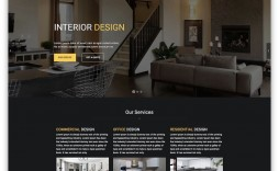 011 Awesome Interior Design Website Template High Definition  Templates Company Free Download Html