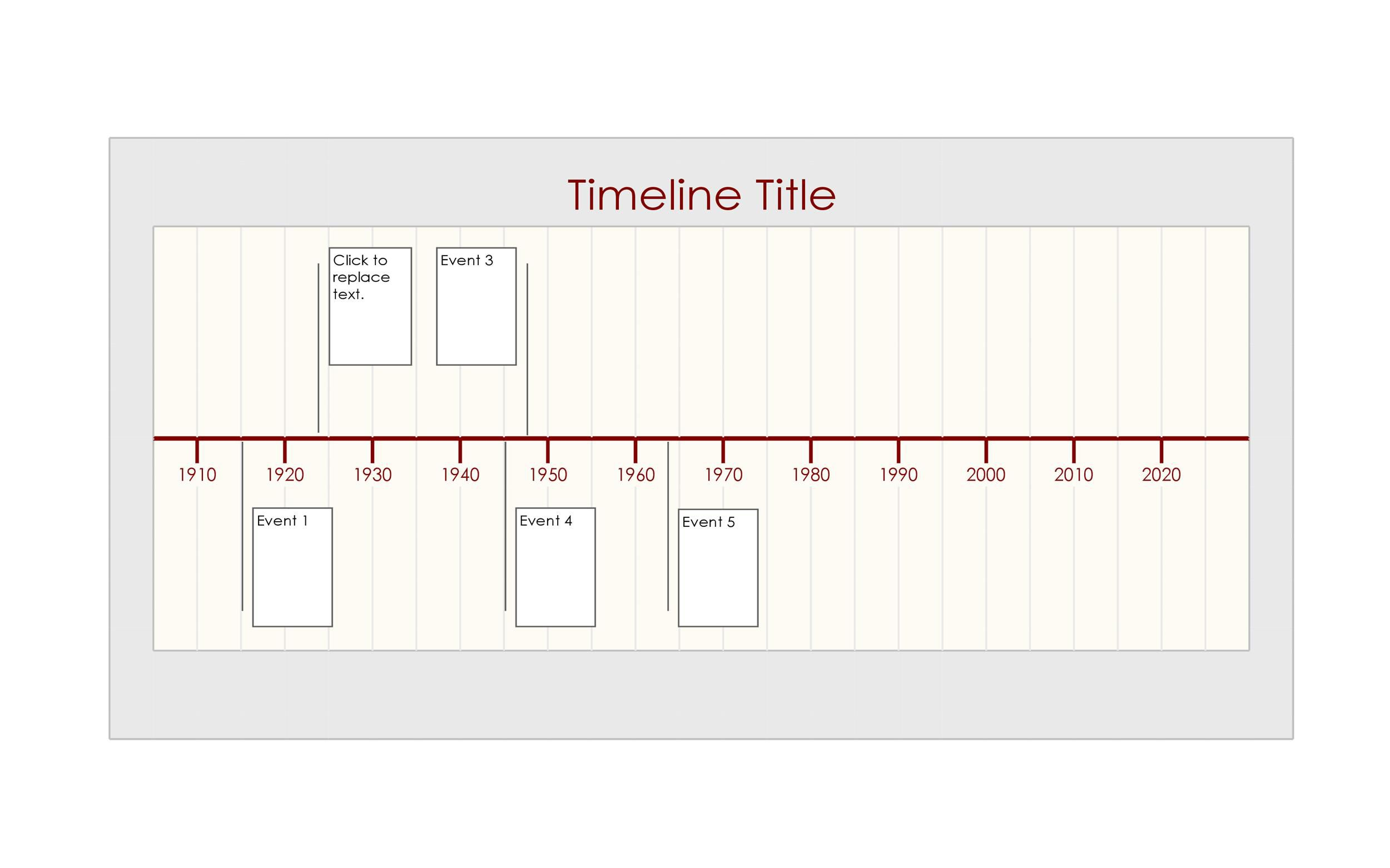 011 Awful Free Timeline Template Word Sample  Doc VerticalFull