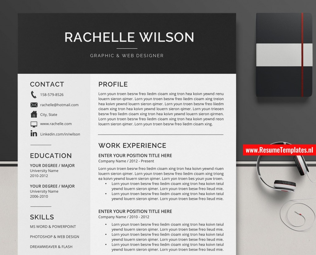 011 Dreaded Microsoft Word Resume Template 2020 Highest Quality  FreeLarge