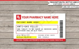011 Dreaded Pill Bottle Label Template Example  Vintage Medicine Printable Free