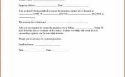 011 Fascinating 30 Day Eviction Notice Template High Def  Pdf Form