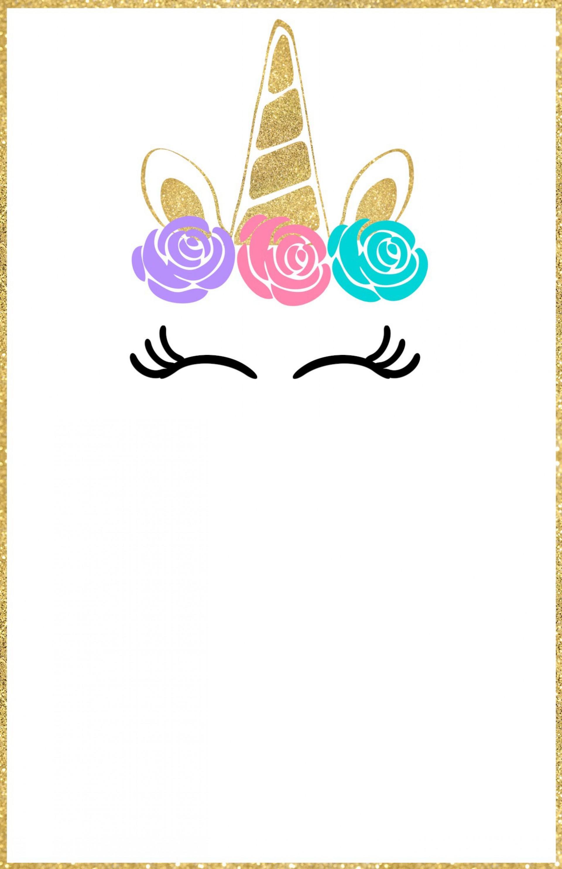 011 Fearsome Unicorn Baby Shower Template Free Download Idea  Printable Invitation1920