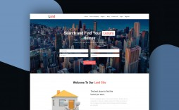 011 Formidable Real Estate Website Template High Definition  Templates Bootstrap Free Html5 Best Wordpres
