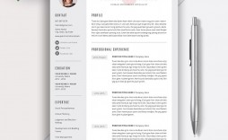 011 Frightening 1 Page Resume Template Photo  Templates One Basic Word Free Html Download