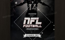 011 Impressive Football Flyer Template Free Sample  Download Flag Party