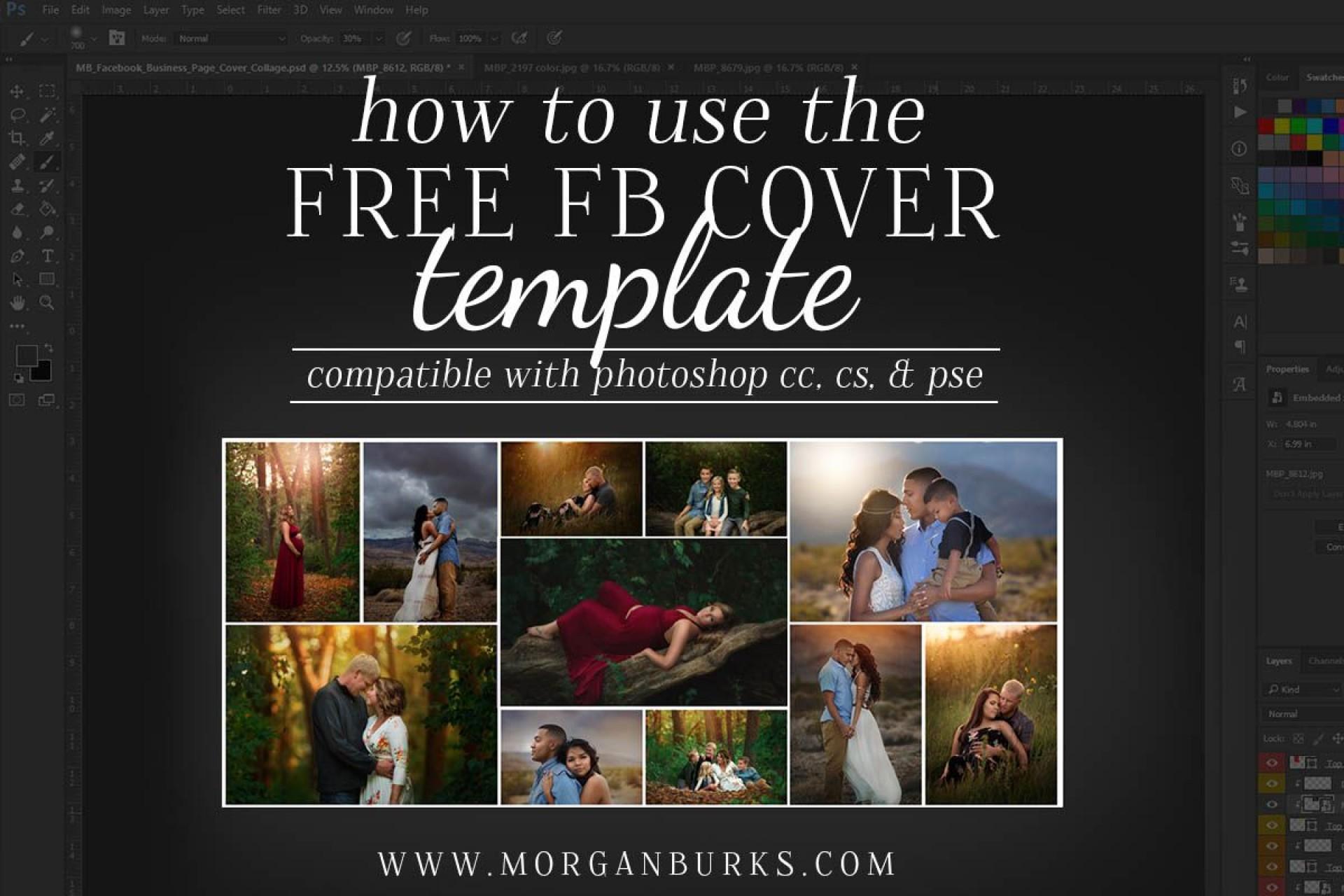 011 Rare Facebook Cover Photo Photoshop Template Idea  2019 Page Profile Picture Size1920
