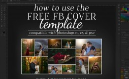 011 Rare Facebook Cover Photo Photoshop Template Idea  2019 Page Profile Picture Size