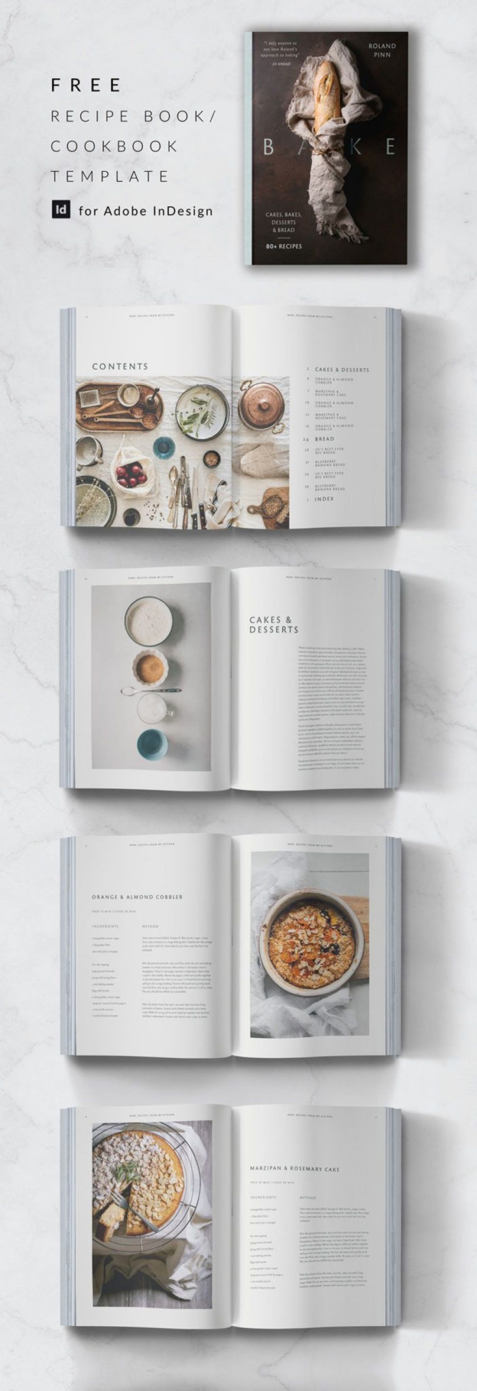 011 Remarkable Create Your Own Cookbook Free Template Sample 960