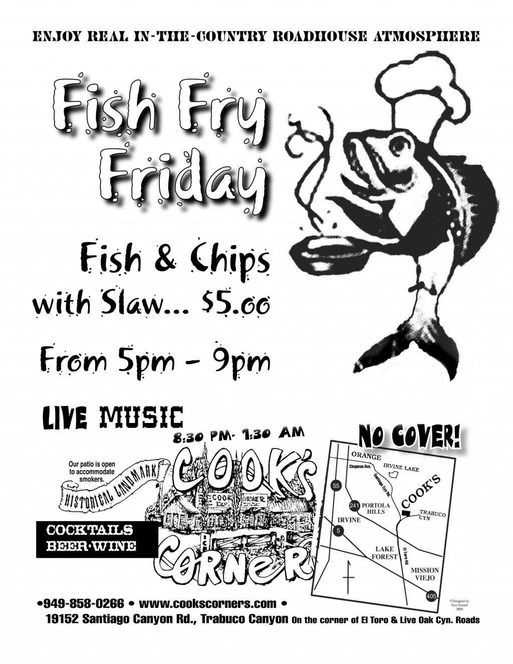011 Remarkable Fish Fry Flyer Template High Definition  Printable Free Powerpoint PsdLarge