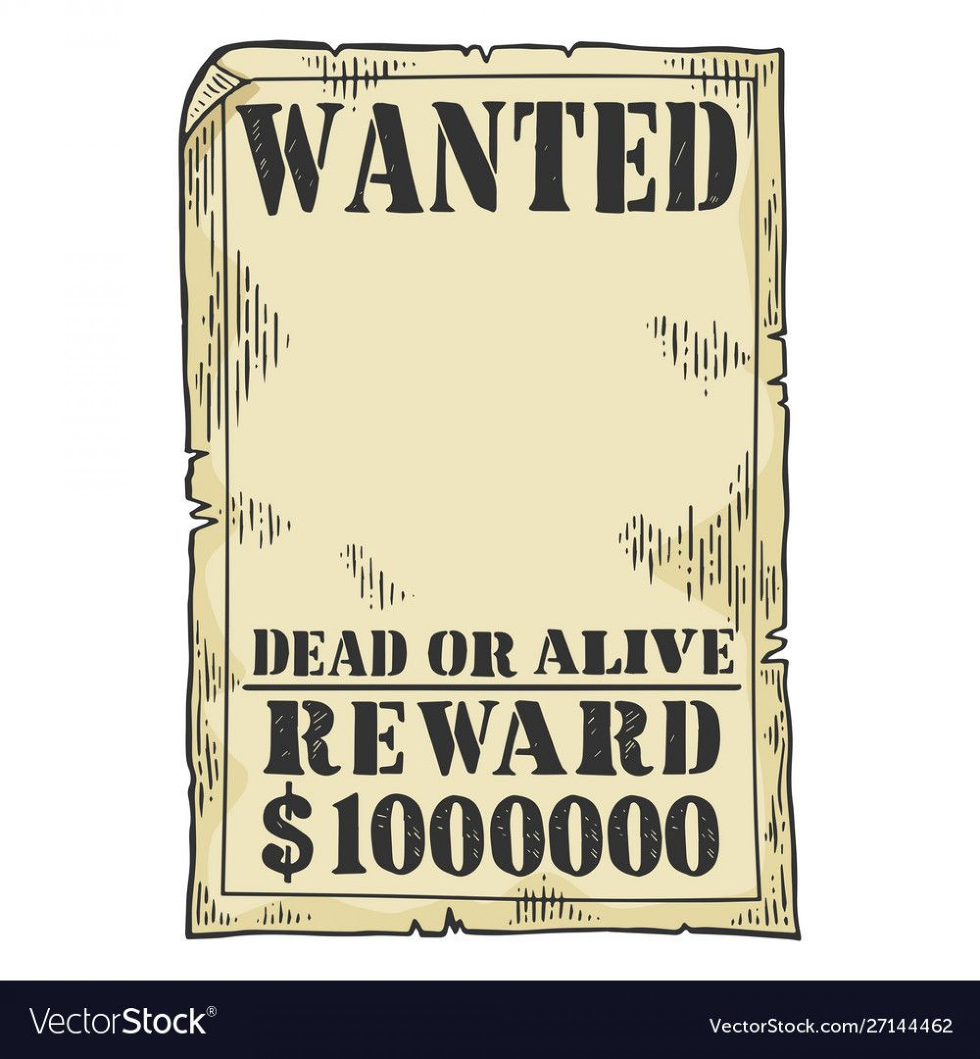 011 Sensational Wanted Poster Template Pdf Inspiration  Free Character1920