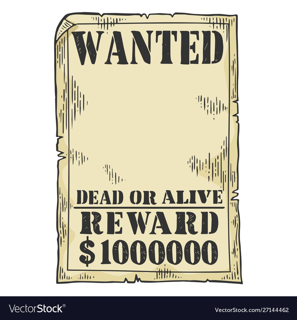 011 Sensational Wanted Poster Template Pdf Inspiration  Free CharacterFull