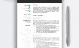 011 Simple Resume Template Word Download Design  For Fresher In Format Free 2020