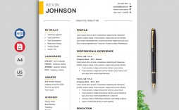 011 Stirring Resume Template Word Free Download 2019 Picture  Cv