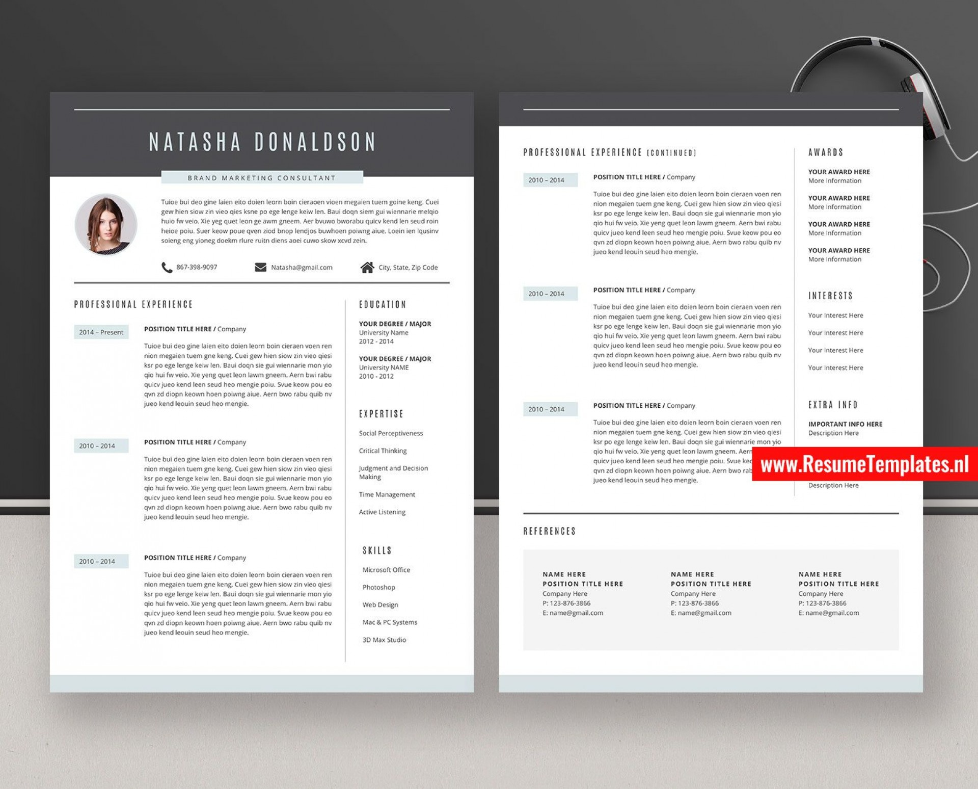 011 Striking Curriculum Vitae Word Template High Definition  Templates Download M 2019 Cv Free1920