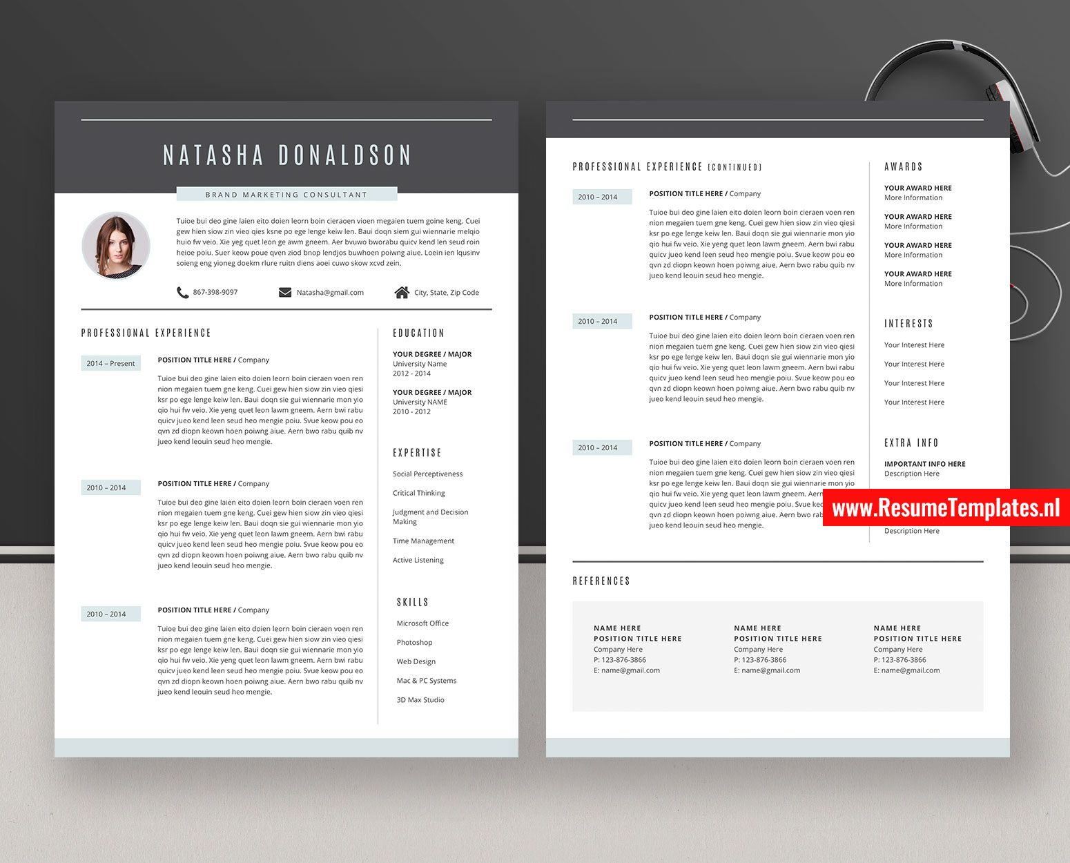 011 Striking Curriculum Vitae Word Template High Definition  Templates Download M 2019 Cv FreeFull