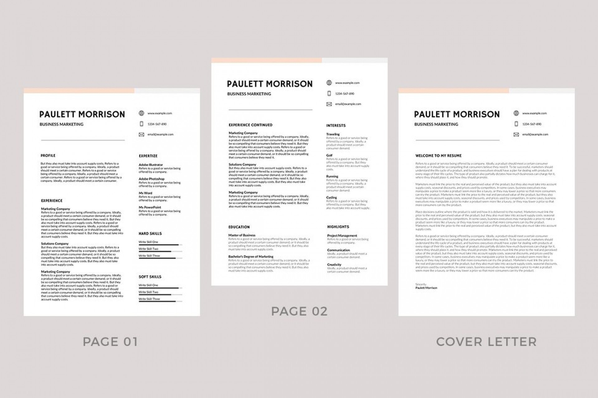 011 Striking Easy Free Resume Template Highest Quality  Templates Online Download Quick Builder1920