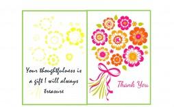 011 Striking Free Printable Photo Card Template Inspiration  Templates Birthday Thank You