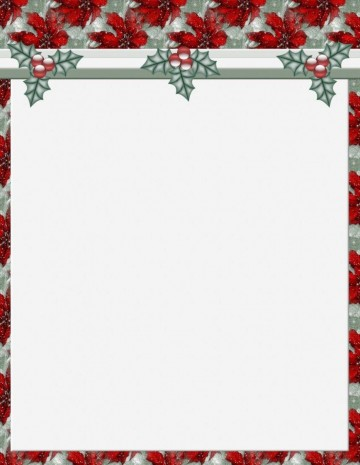 011 Stunning Free Holiday Stationery Template For Word Highest Clarity 360