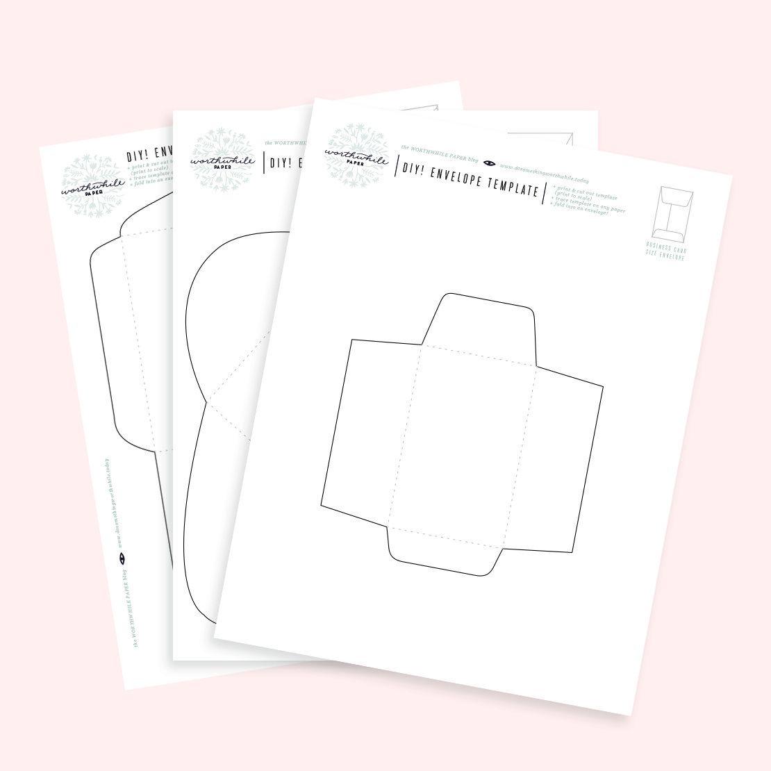 011 Surprising Gift Card Envelope Template Inspiration  Templates Voucher Diy Free PrintableFull