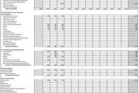 011 Surprising Monthly Cash Flow Template Excel Uk Sample
