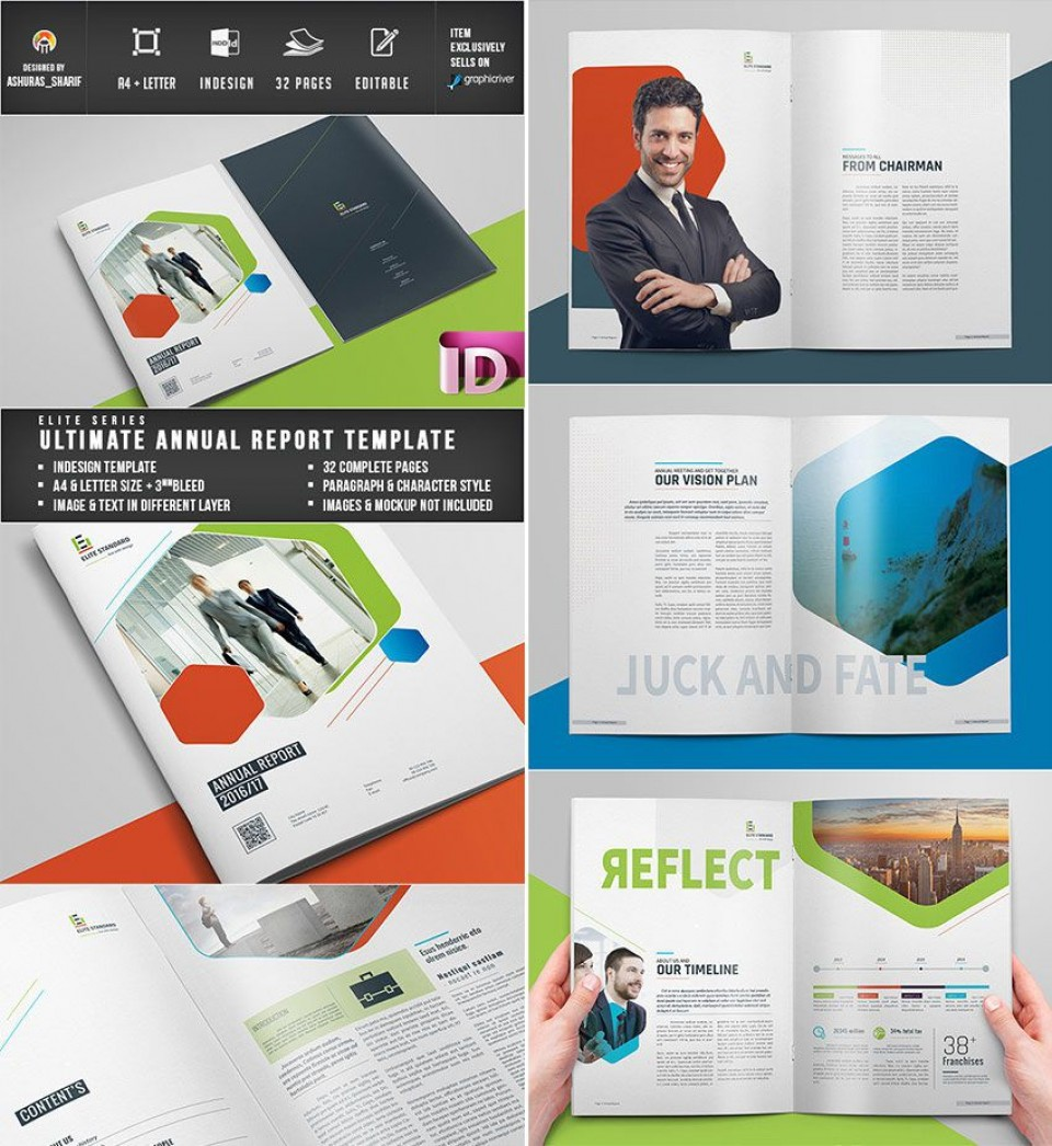 011 Unbelievable Free Annual Report Template Indesign Photo  Adobe Non Profit960