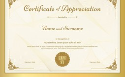 011 Unique Certificate Of Appreciation Template Free High Def  Microsoft Word Download Publisher Editable