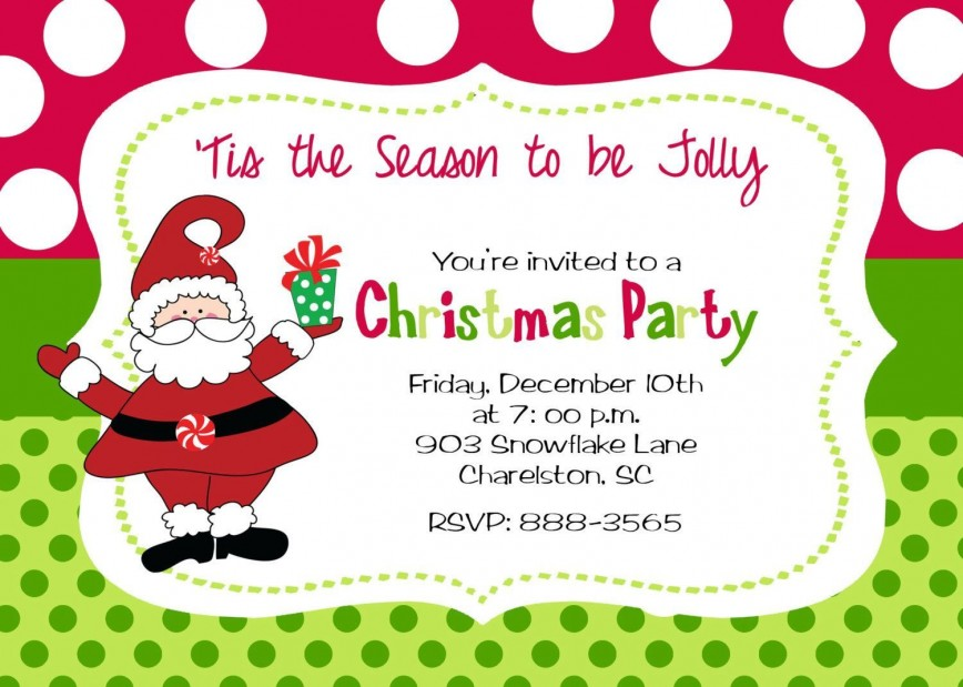 011 Unique Holiday Party Invite Template Word Picture  Free Invitation Wording Sample Microsoft