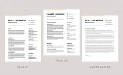 011 Unusual Download Free Resume Template Word 2018 Image