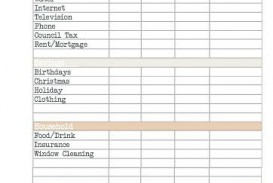 011 Unusual Free Monthly Budget Template Image  Household Excel Expense Report Download