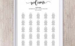 011 Wonderful Wedding Seating Chart Template Concept  Templates Plan Excel Word Microsoft