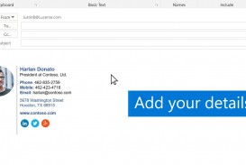 011 Wondrou Email Signature Format For Outlook Concept  Example Template Microsoft