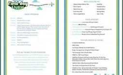 011 Wondrou Free Event Program Template Idea  Templates Half Fold Online Download