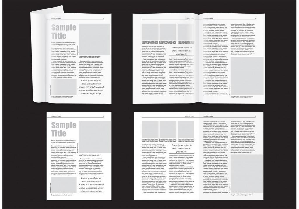 011 Wondrou Magazine Template For Microsoft Word Concept  Layout Design DownloadLarge