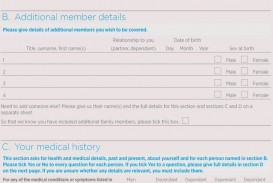 011 Wondrou Personal Medical History Template Download Highest Quality