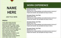 011 Wondrou Resume Template Free Word Download Photo  Cv With Malaysia Australia