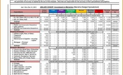 012 Astounding Annual Busines Budget Template Excel Example  Small Free
