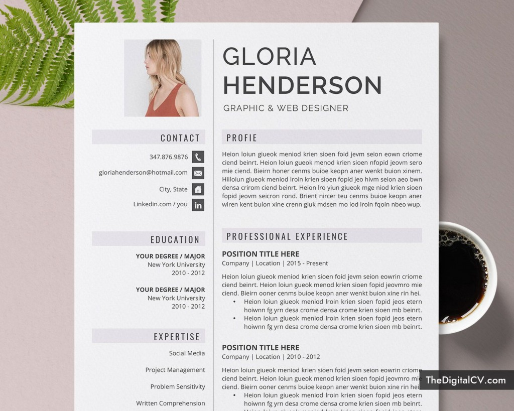 012 Excellent Microsoft Word Resume Template 2020 Idea  FreeLarge