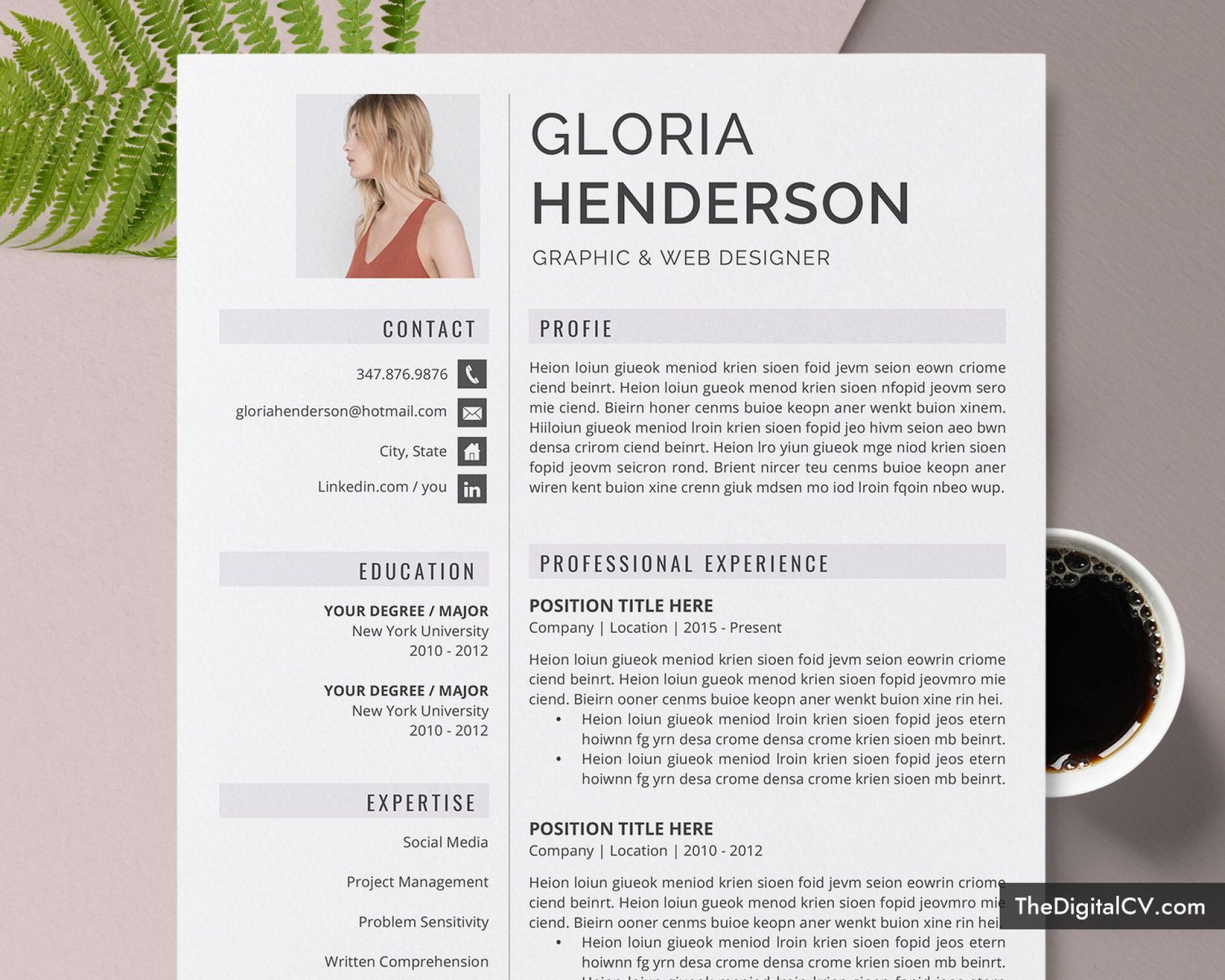 012 Excellent Microsoft Word Resume Template 2020 Idea  Free1920