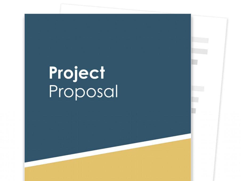 012 Exceptional Free Project Proposal Template Example  Document Ppt PdfLarge