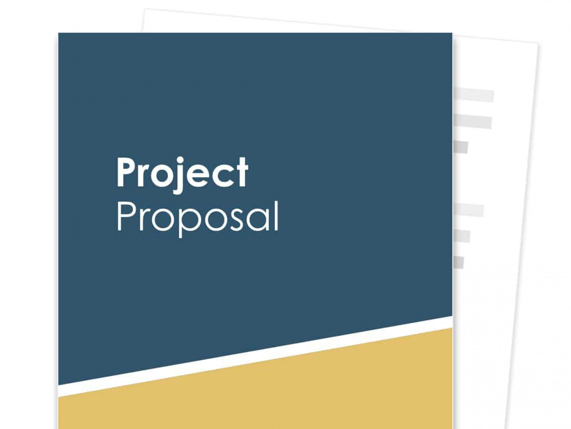 012 Exceptional Free Project Proposal Template Example  Document Ppt Pdf1920