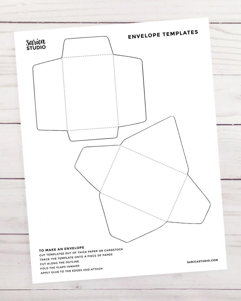 012 Frightening Gift Card Envelope Template Idea  Templates Voucher Diy Free PrintableLarge