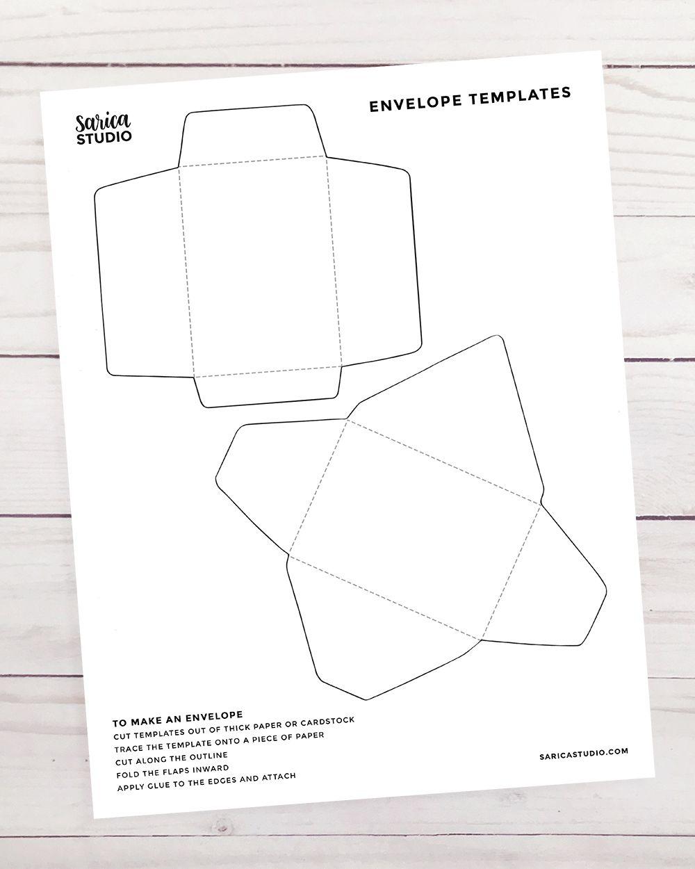012 Frightening Gift Card Envelope Template Idea  Templates Voucher Diy Free PrintableFull