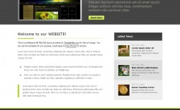 012 Frightening Simple Web Page Template Example  Free Download Html Code