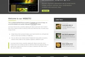 012 Frightening Simple Web Page Template Example  Html Website Free Download In Design Using And Cs
