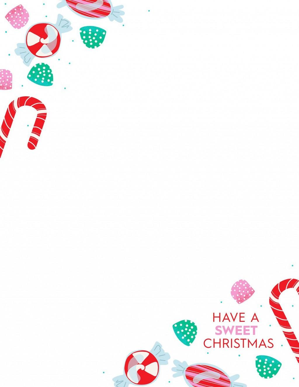012 Sensational Free Christma Letter Template For Microsoft Word Sample  Downloadable NewsletterLarge