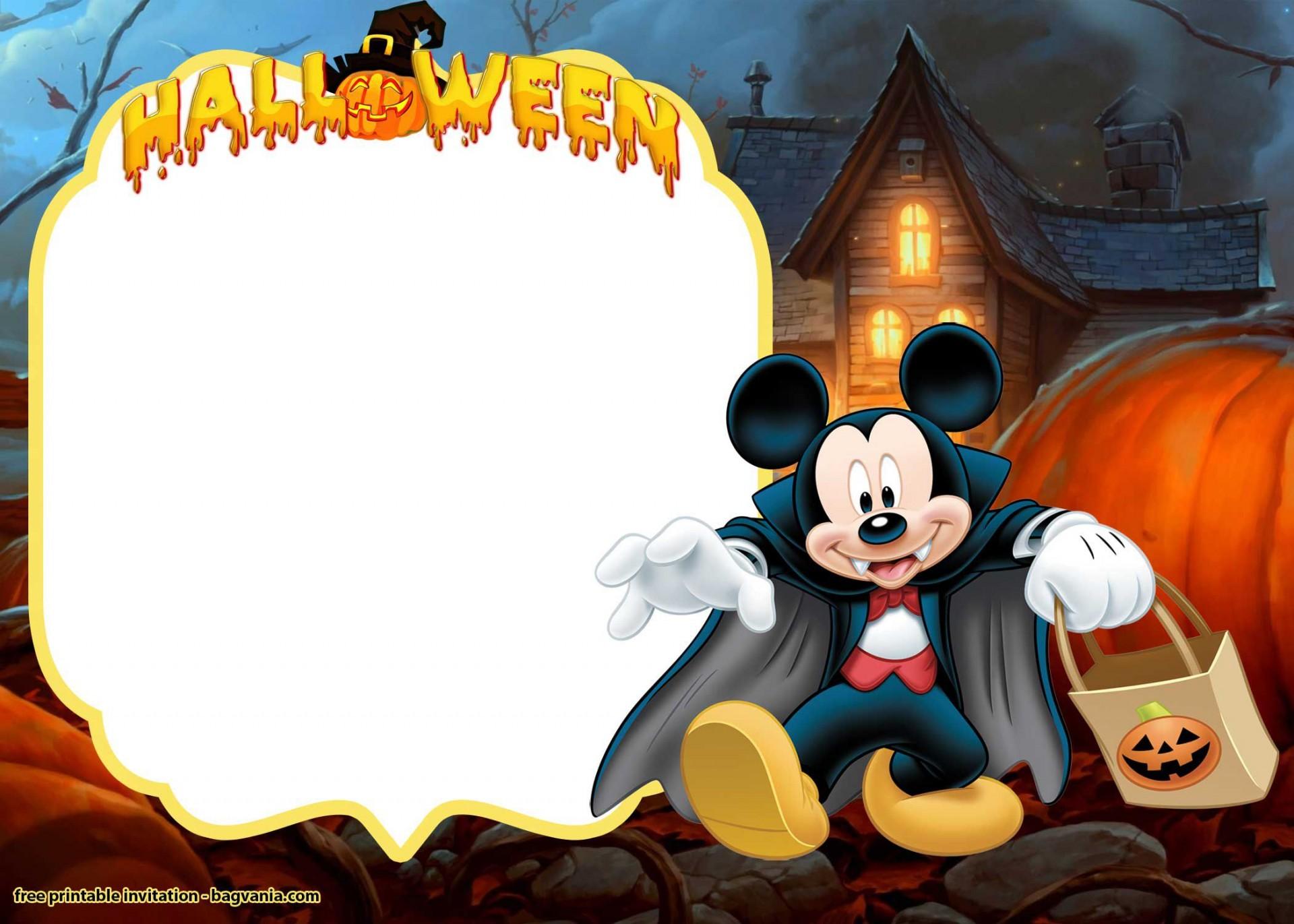 012 Shocking Free Halloween Invitation Template Idea  Templates Microsoft Word Wedding Printable Party1920