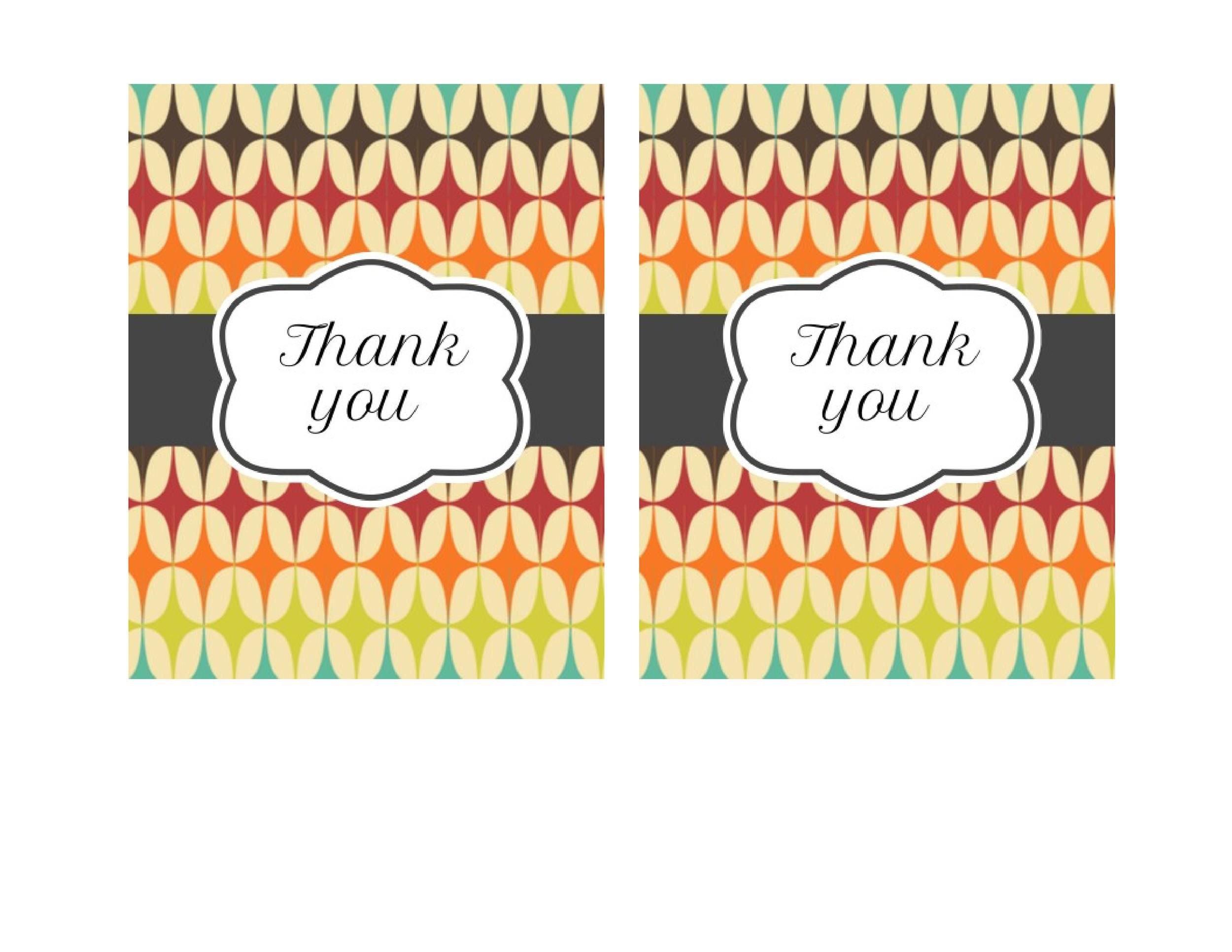 012 Shocking Free Printable Photo Card Template  Templates Birthday Thank YouFull